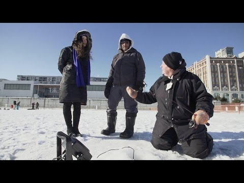 Winter Fun 101: Ice Fishing In Old Montreal