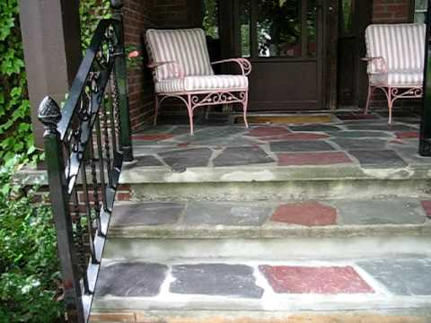 Lovely Flagstone Concrete Step Repair   #1 !   YouTube