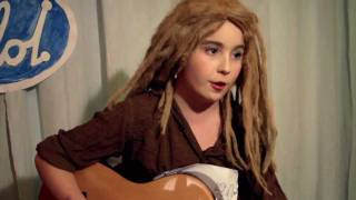 Idol 2011 Moa - i vardagsrummet