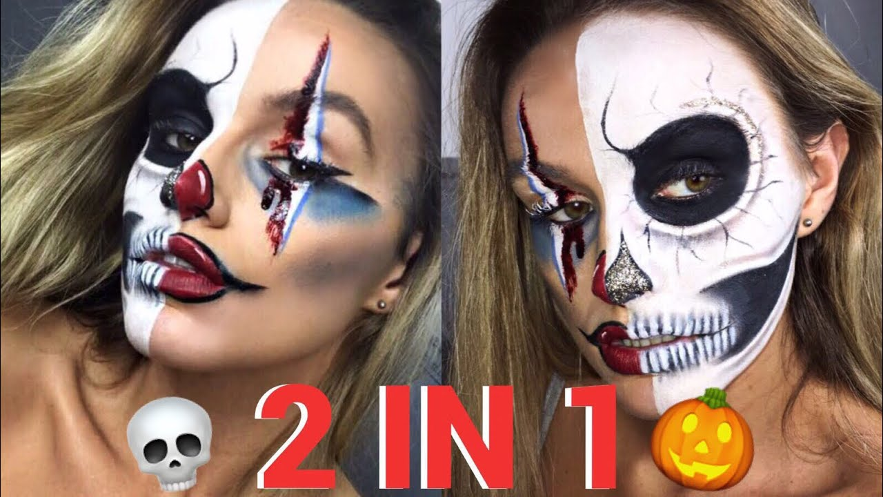 Clown makeup tutorial