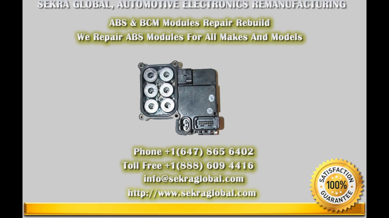 ABS Module Repair And BCM Module Repair And Rebuild
