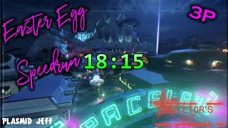 Zombies in Spaceland Easter Egg Speedrun 3P (Director's Cut) 18:15