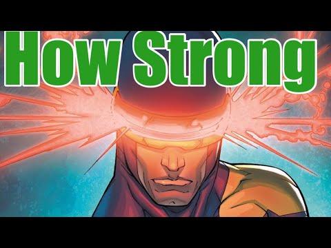 How Strong Is Cyclops ( Scott Summers ) | Marvel Comics ~ X-MEN | Mutant