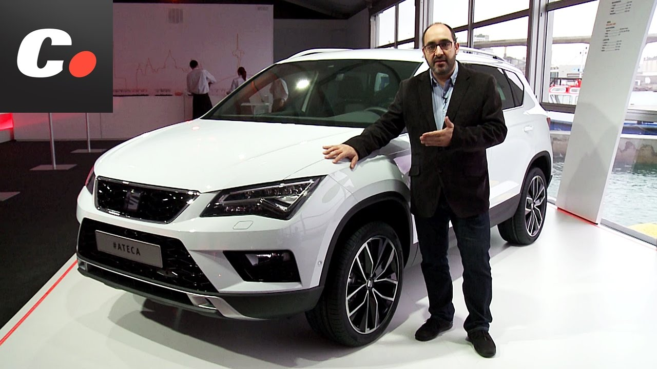 seat ateca suv presentaci n est tica review en espa ol. Black Bedroom Furniture Sets. Home Design Ideas