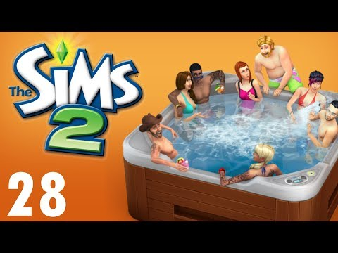 The Sims 2 - HOT TUB PARTY!! #28 (Lets Play)
