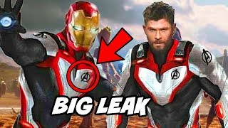 Avengers 4 Big Leaked Suits Explained after Avengers Infinity War