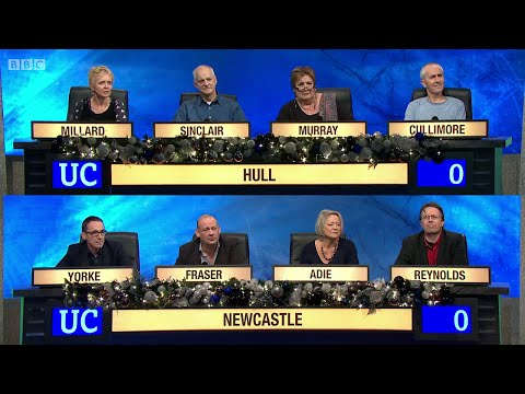 University Challenge - Christmas 2014 E02  University of Hull vs University of Newcastle