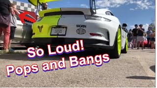 homepage tile video photo for Porsche 991 GT3RS REALLY Loud Pops and Bang ECU Flash by VRTuned