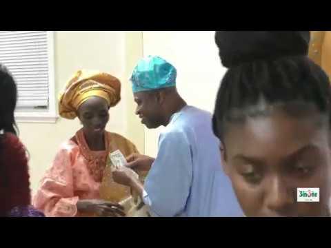 Folashade In Action @ 85th Birthday of Mrs Sarah Akinwumi
