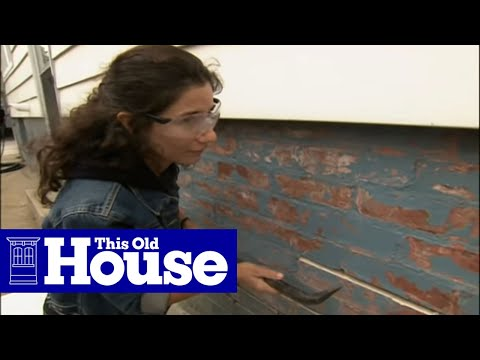 How to Repoint a Brick Foundation - This Old House