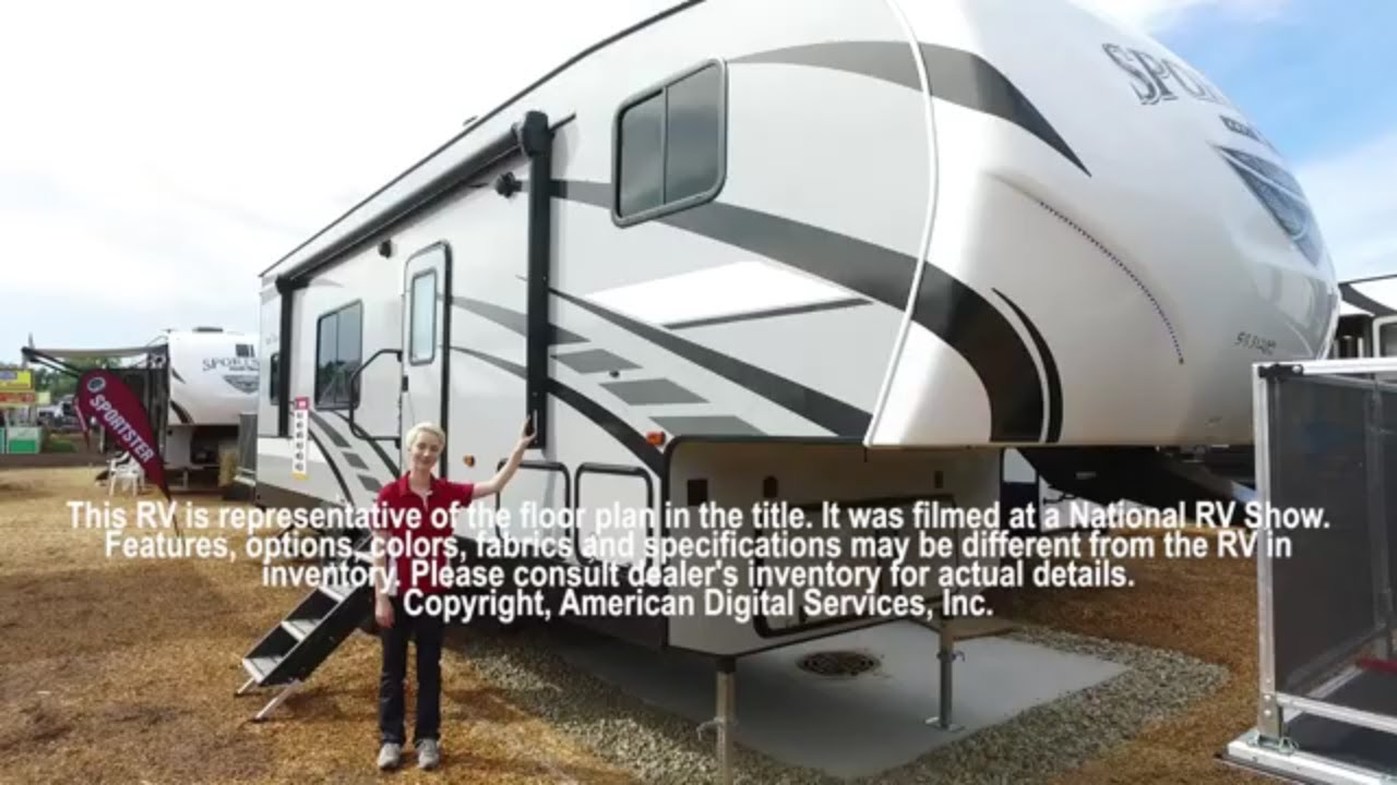 New 2019 KZ Sportster 280TH Toy Hauler Fifth Wheel at