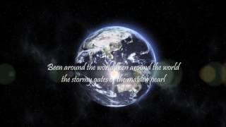 Kings Of Leon - Around the world - Lyrics Video