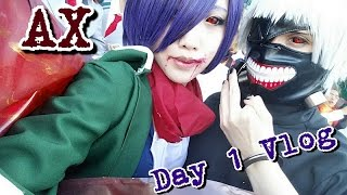 [UchihaHotline] Anime Expo Vlog! (Day 1) [TOKYO GHOUL COSPLAY]