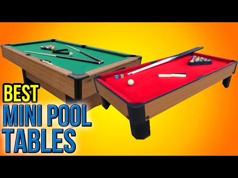 7 Best Mini Pool Tables 2016