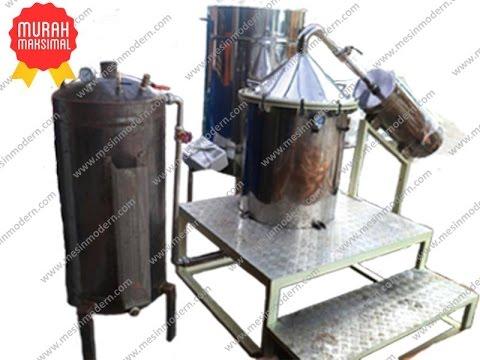 Jual Mesin Destilasi Minyak Atsiri