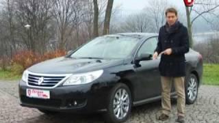 Renault Latitude - Первый тест ч.2