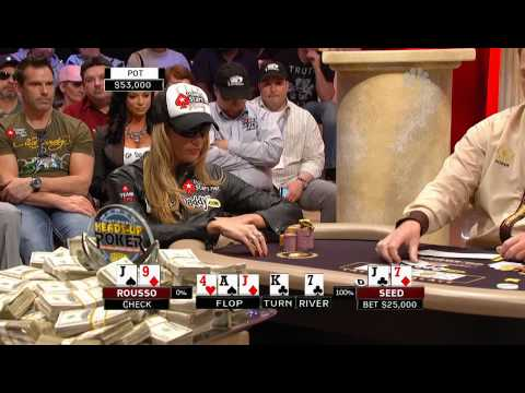 National Heads Up Poker Championship 2009 Episode 12 1/5 (Finals)
