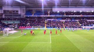Kenny Miller Goal, Cardiff City v Portsmouth 21/01/12