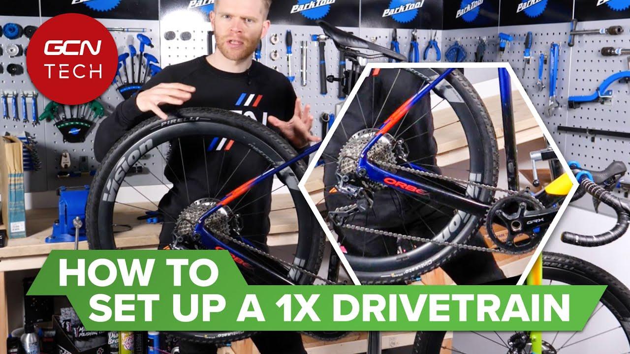 Download How To Set Up A 1x Drivetrain | GCN Tech Monday Maintenance