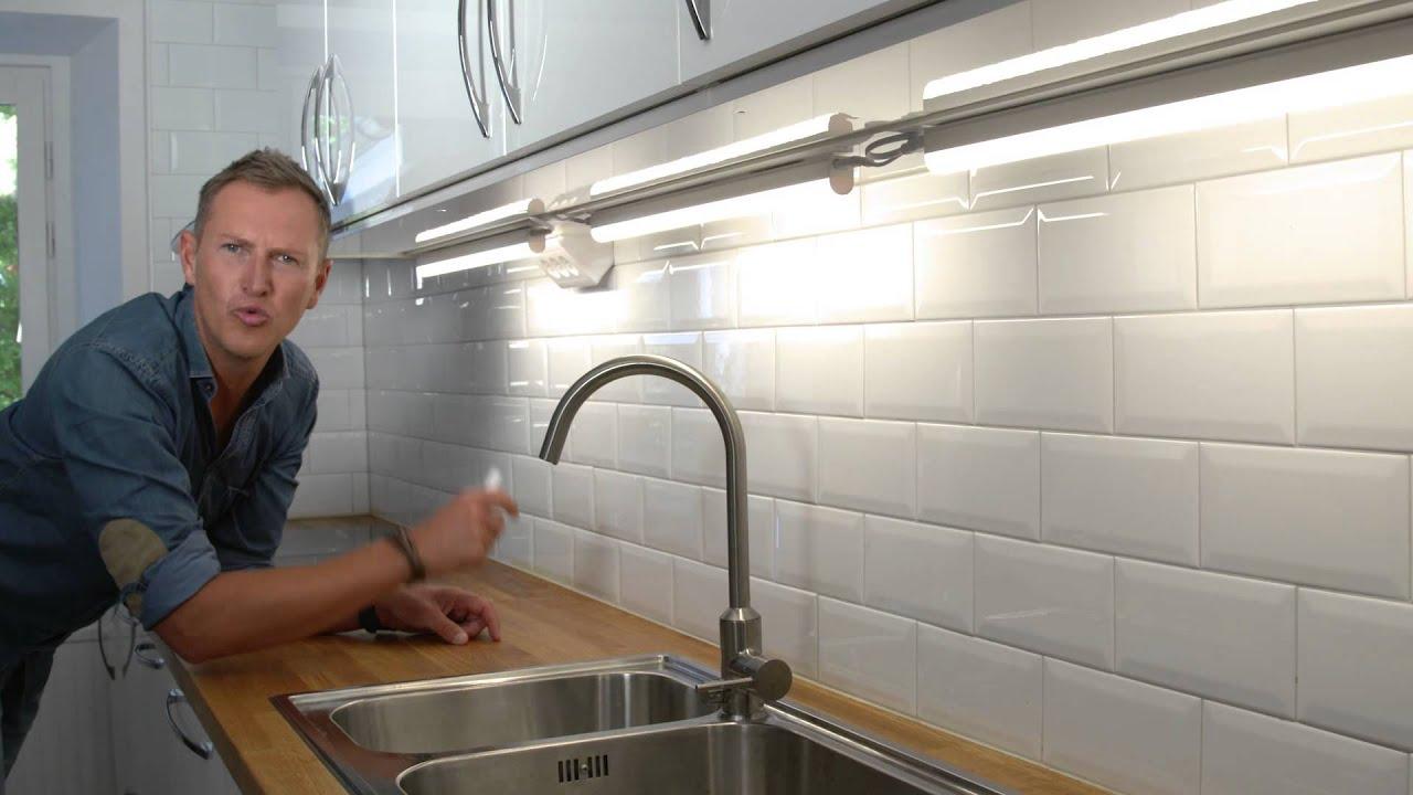 Led Belysning Kok Ikea : Po kjokkenet trenger du alltid lys!  YouTube