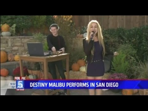 Destiny Malibu Live on Fox 5 News San Diego