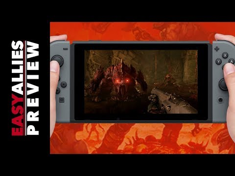 Doom and Skyrim on Switch - Hands-on Impressions