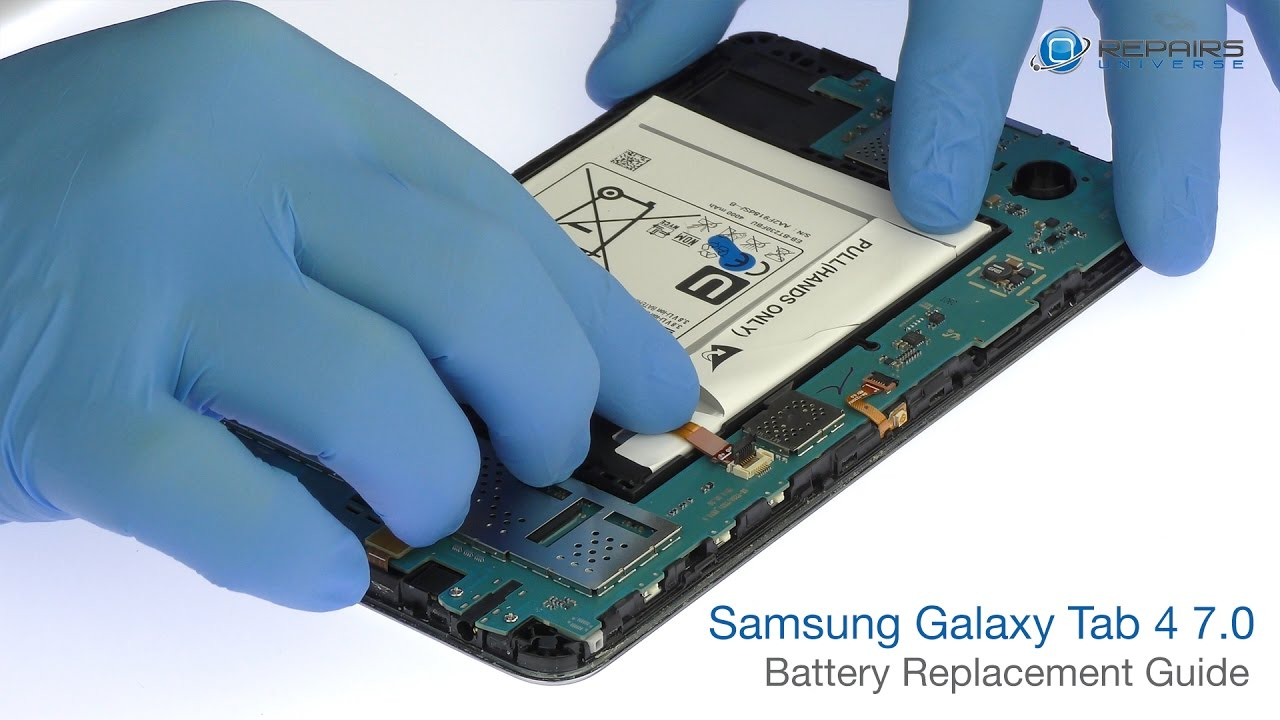 Samsung Galaxy Tab 4 7.0 Battery Replacement Guide - RepairsUniverse