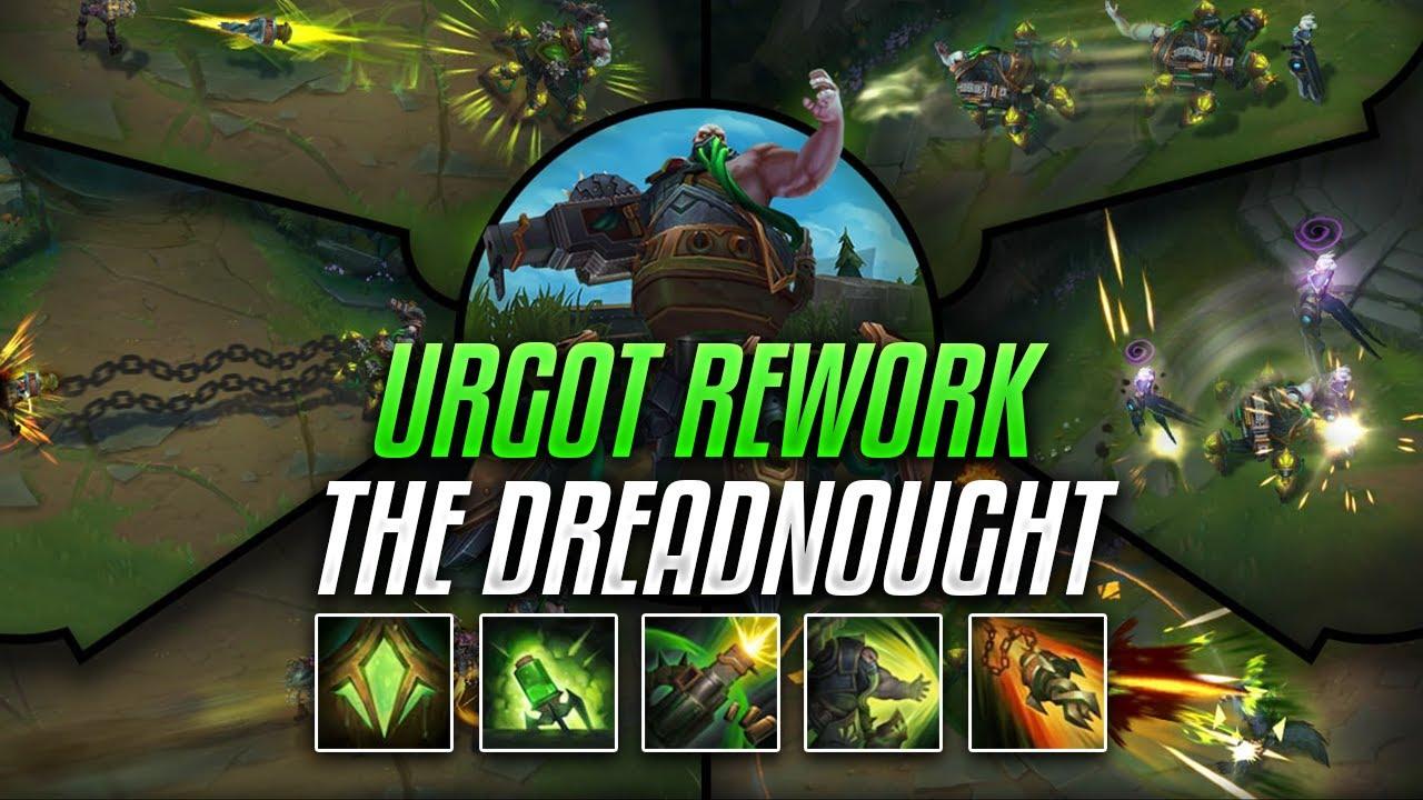 urgot rework montage the