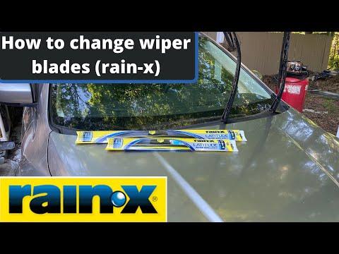How to install wiper blades (Rain-x) Mazda CX-7