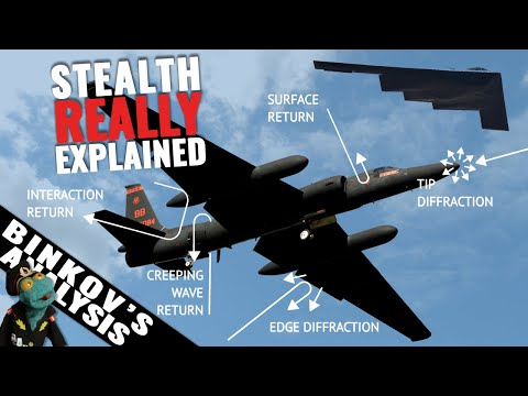 Shape Or Materials? Which Is More Important For Modern Stealth Planes?