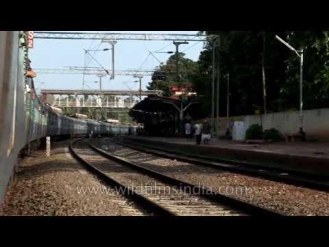 Experience the joy of train travel: Kerala, India