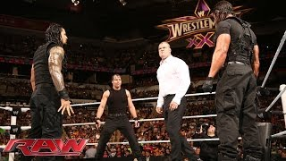 Download The Shield Triple Power Bombs Kane: Raw, March 17, 2014 Mp3 and Videos