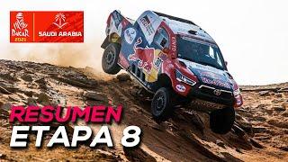 Al-Attiyah recorta con Peterhansel; Sainz, segundo | Resumen Etapa 8 Dakar 2021 | SoyMotor.com