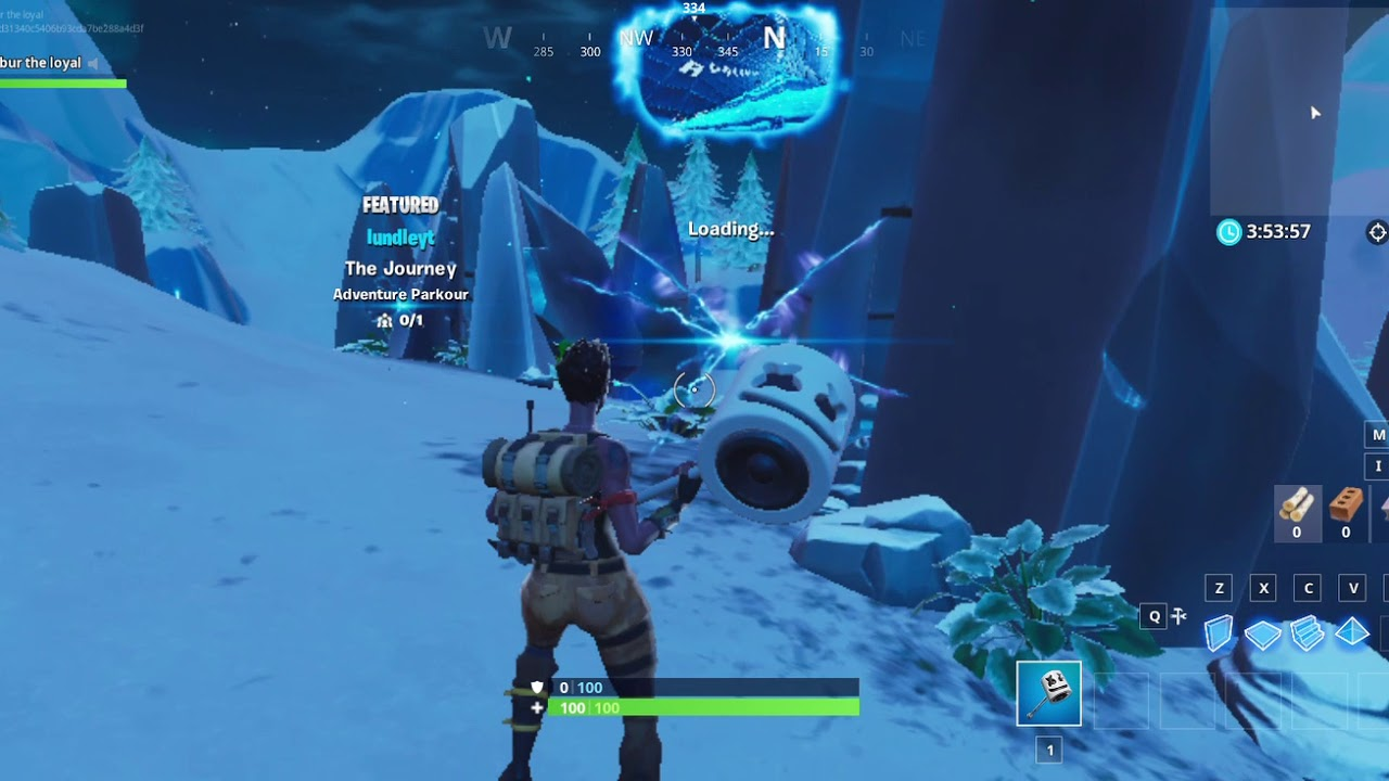 How to get to crab rave island in Fortnite - YouTube