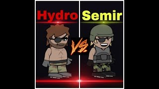 Mini Militia : Hydro vs Semir #2 [LEGENDARY 1vs1]