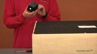 Assembly Video Corbett Linen Coffee Table Storage Ottoman