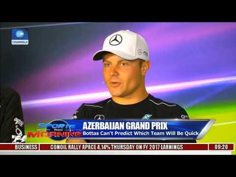 Bottas Can't Predict Which Team Will Be Quick In Azerbaijan Grand Prix