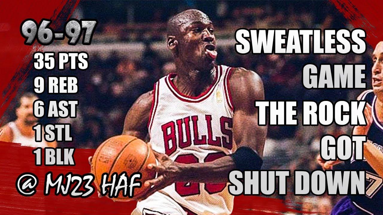 202431aa8fd Michael Jordan Highlights vs Kings (1997.02.28) - 35pts