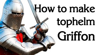 "Tophelm ""Griffon"". How to make helmet."