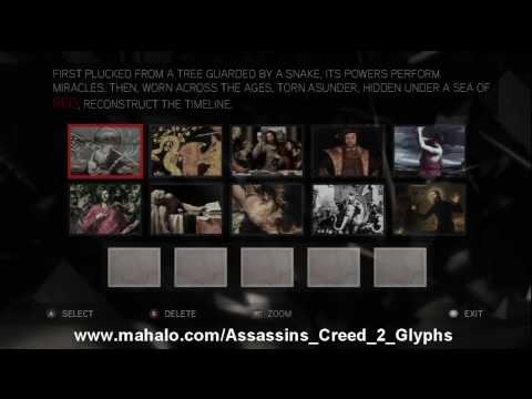 Assassin S Creed 2 Walkthrough Glyph Puzzle 7 Hd Youtube