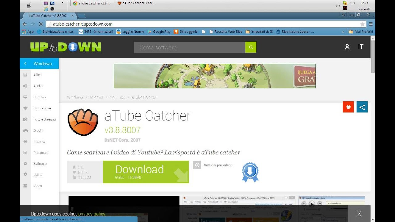 atube catcher gratis italiano 2015