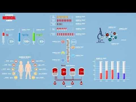 Medical Infographic Elements | After Effects template - YouTube