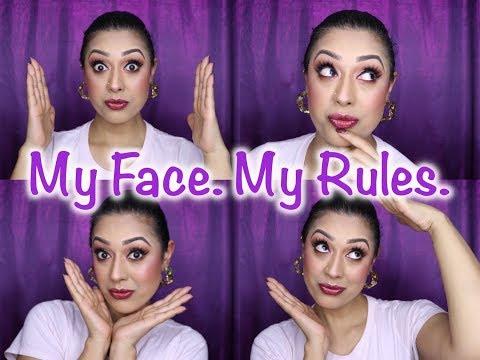 Makeup Shaming: My Face  My Rules