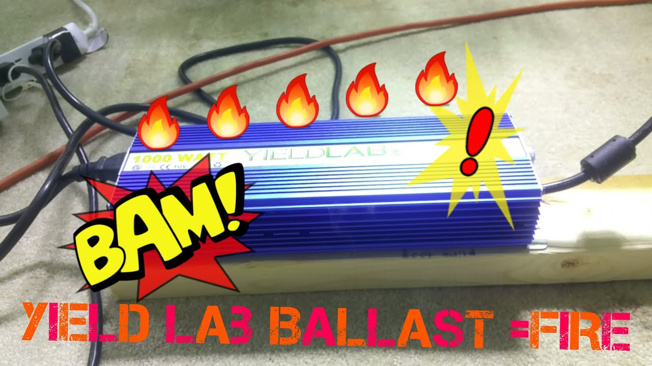 Yield Lab Ballast u003d FIRE!!! ??? & Yield Lab Ballast u003d FIRE!!! ??? - YouTube