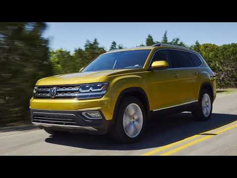 First Drive Review 2018 : The 2018 VW Atlas Is All Over The Mainstream SUV Map