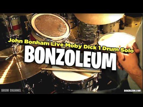 John Bonham * LIVE MOBY DICK 1 * DRUM SOLO Drum Lesson PART ONE