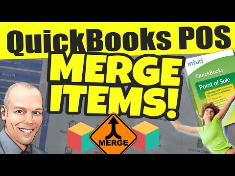 QuickBooks POS: Merge Items