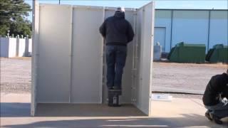 Steel Safe Room Installation