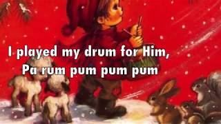 The Little Drummer Boy Charlotte Church With Lyrics | Christmas Song