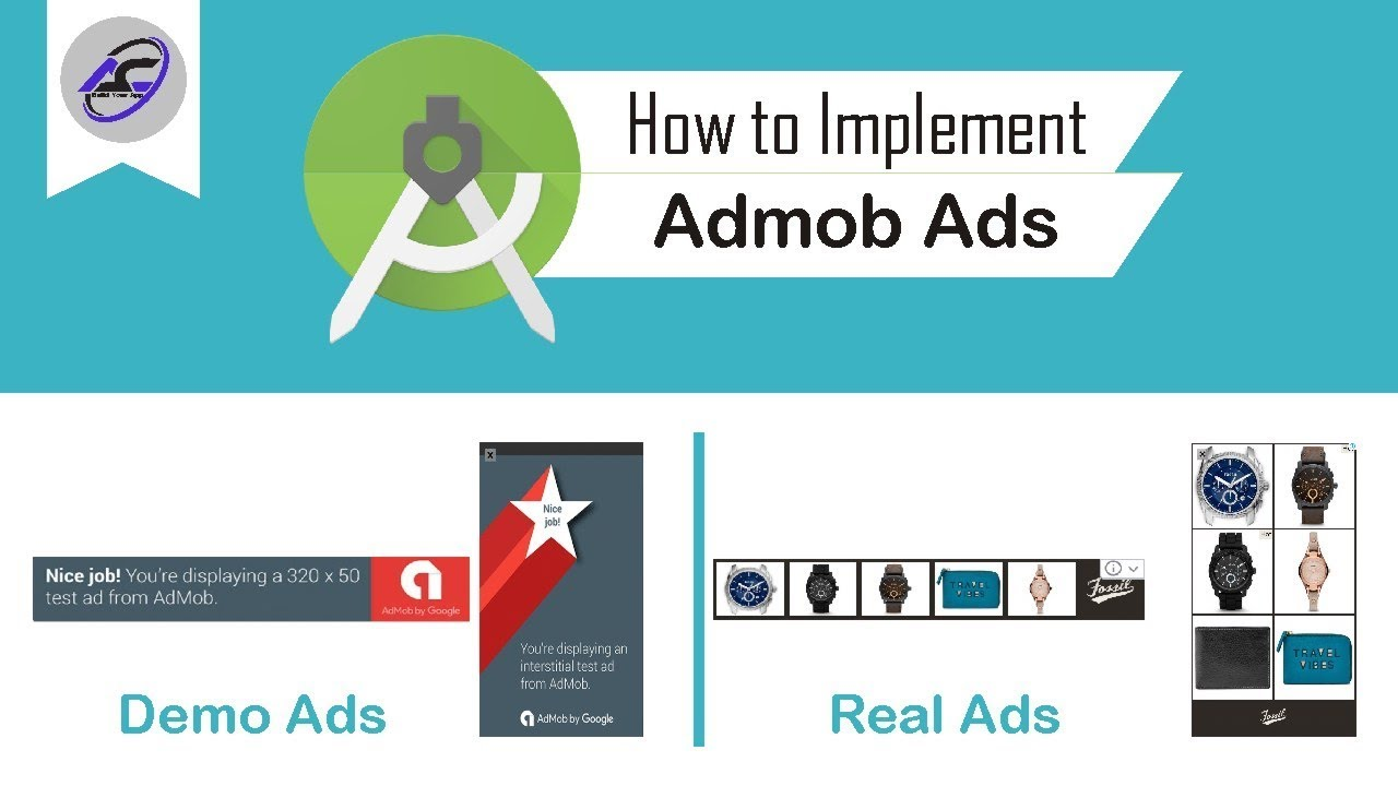 How to Implement Admob Ads in Android Studio | AdmobAds | Android Coding